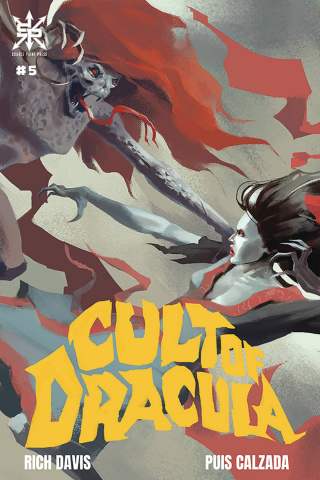 Cult of Dracula #5 (Nemeth Cover)