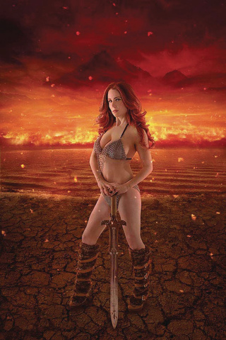 Red Sonja: Age of Chaos #1 (30 Copy Cosplay Virgin Cover)