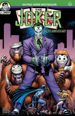 Joker 80th Anniversary 100 Page Super Spectacular #1 (1940s Arthur Adams Cover)