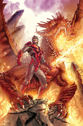 Myths & Legends Quarterly: The Dragon Clan (Vitorino Cover)