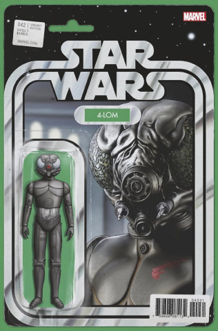 Star Wars #42 (Christopher Action Figure Cover)