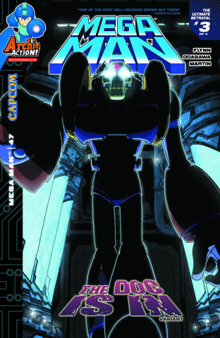 Mega Man #47 (The Doc Is In Cover)