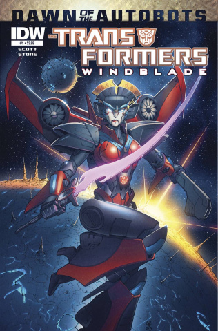 The Transformers: Windblade #1