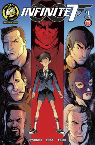 Infinite Seven #1 (Mesa Cover)
