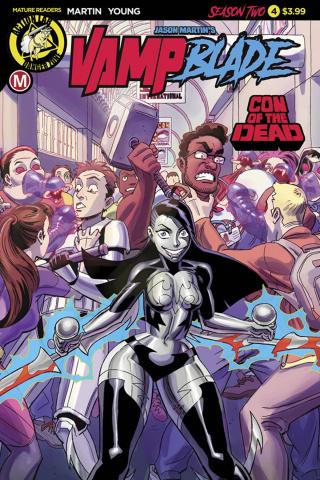 Vampblade, Season Two #4 (Winston Young Cover)