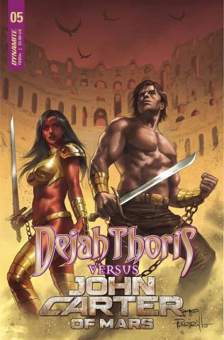 Dejah Thoris vs. John Carter of Mars #5 (Parrillo Cover)