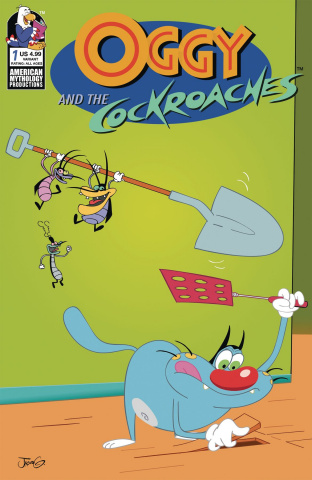 Oggy and the Cockroaches #1 (Greenawalt Cover)