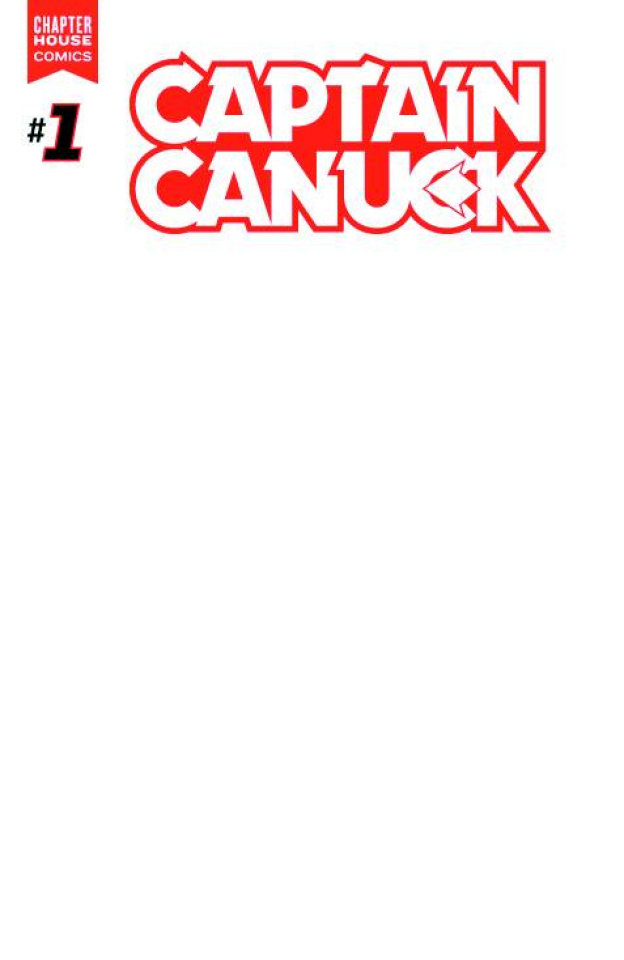 Captain Canuck #1 (10 Copy Blank Sketch Cover)