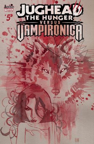Jughead: The Hunger vs. Vampironica #5 (Mack Cover)
