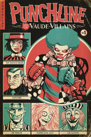 Punchline and the Vaude-Villains #1 (Gonzo Cover)