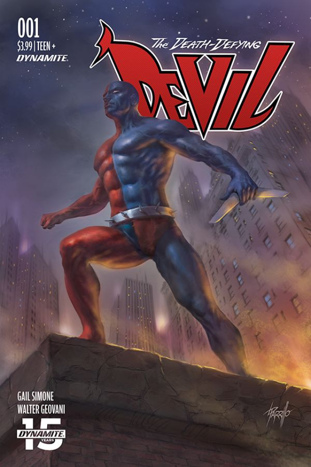 The Death-Defying Devil #1 (Parrillo Cover)