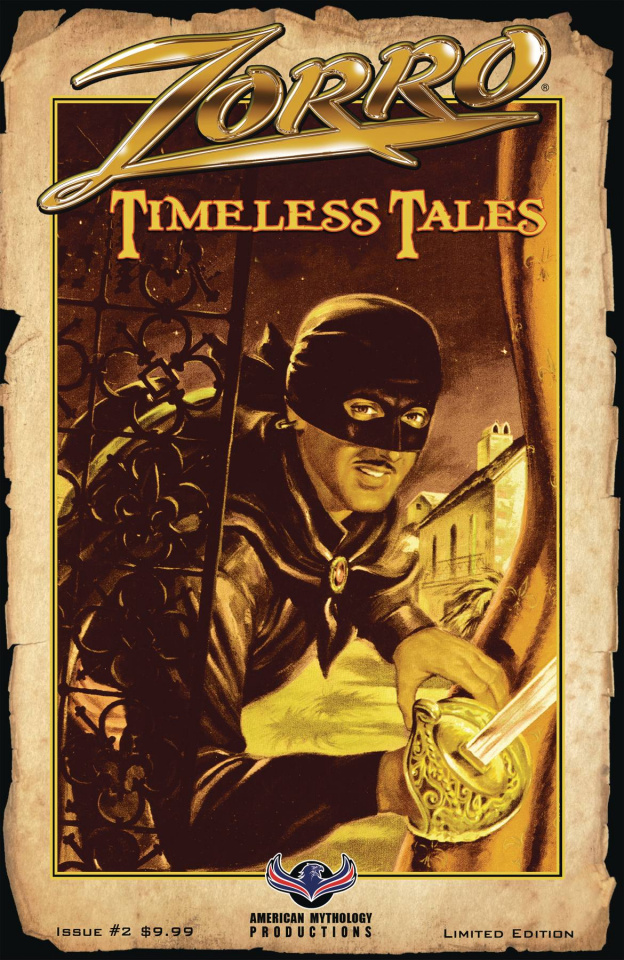 Zorro: Timeless Tales #2 (Pulp Cover)