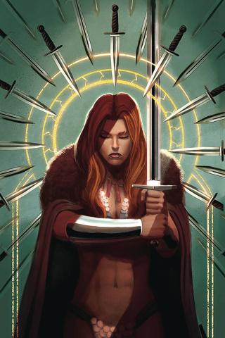 Red Sonja #17 (40 Copy Bob Q Virgin Cover)
