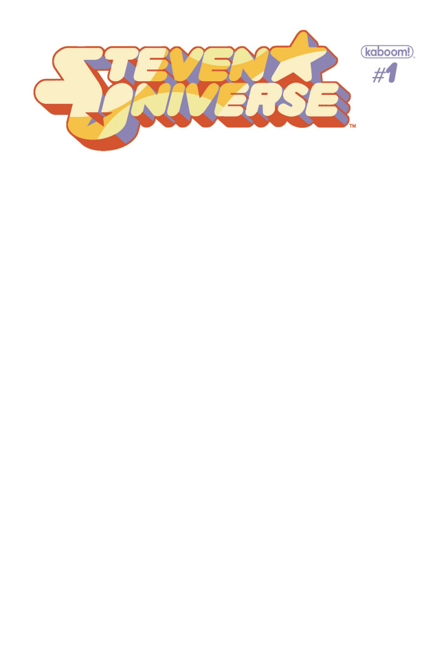 Steven Universe #1 (Unlock Blank Sketch Cover)