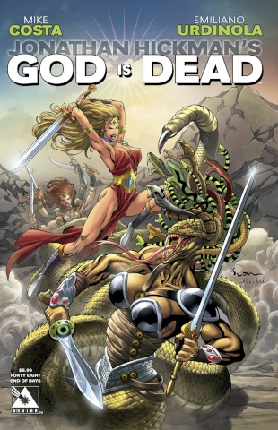God Is Dead #48 (End of Days Cover)