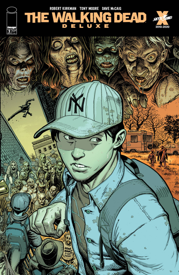 The Walking Dead Deluxe #2 (Adams & McCaig Cover)