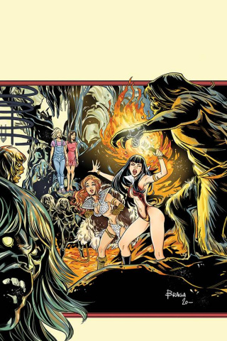 Red Sonja and Vampirella Meet Betty and Veronica #12 (30 Copy Braga Virgin Cover)