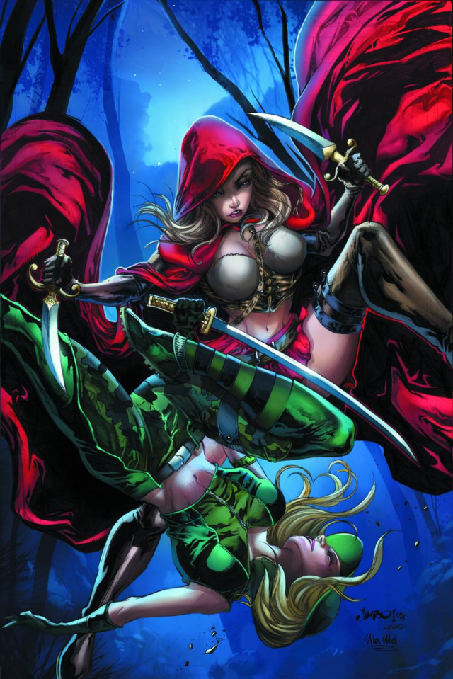 Grimm Fairy Tales: Robyn Hood vs. Red Riding Hood #1 (Salgado Cover)