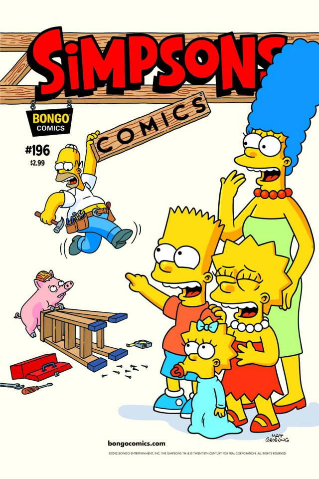Simpsons Comics #196