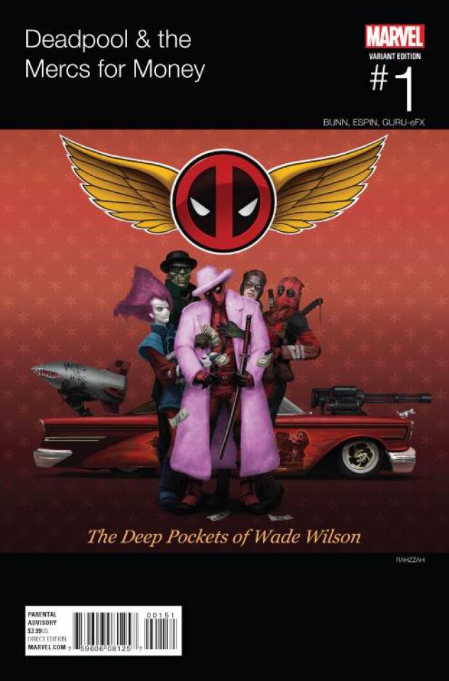Deadpool and the Mercs For Money #1 (Wilson Hip Hop Cover)