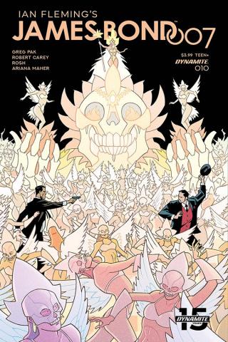 James Bond: 007 #10 (Hester Cover)