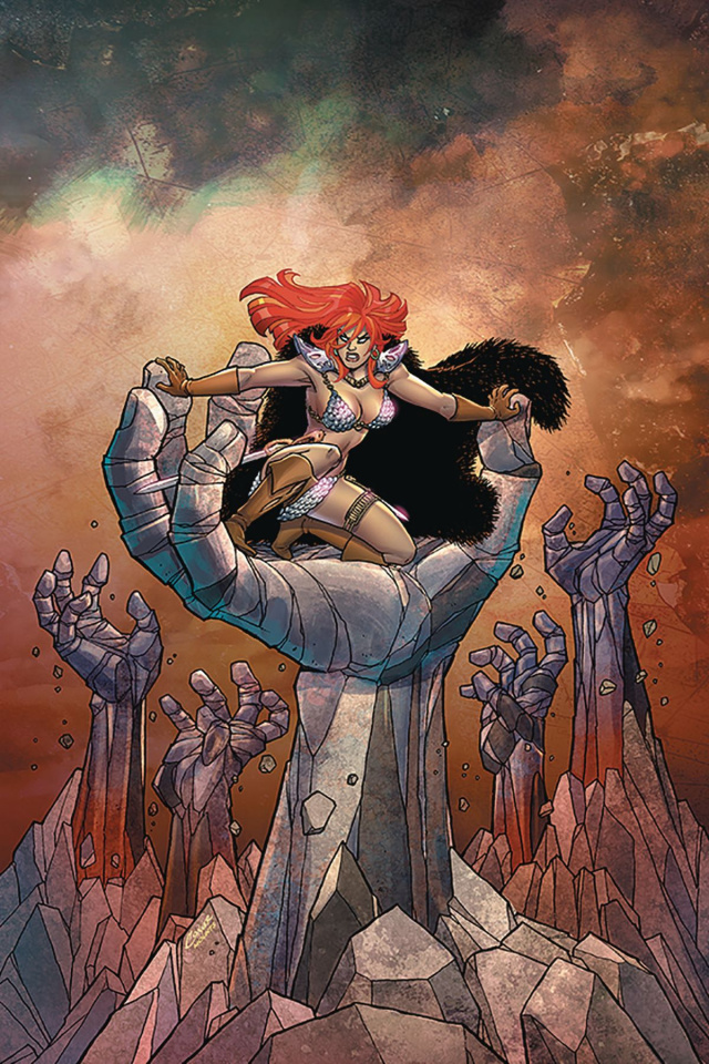 Red Sonja #9 (Conner Virgin Cover)