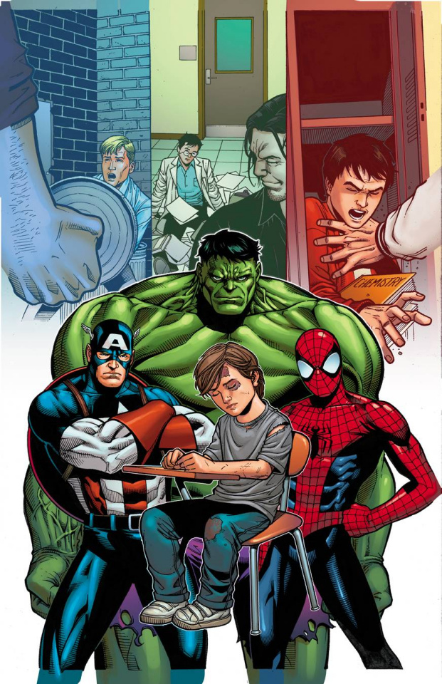 Avengers #36 (Stomp Out Bullying Cover)