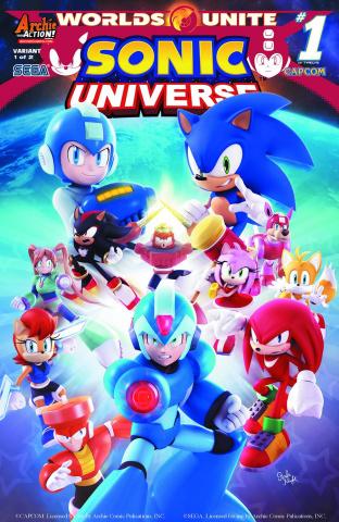 Sonic Universe #76 (Rafa Knight Crossover Kick-Off Cover)