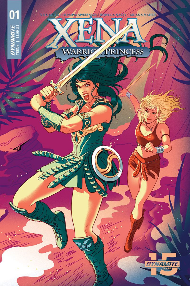 Xena: Warrior Princess #1 (Ganucheau Cover)