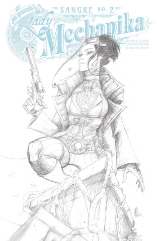 Lady Mechanika: Sangre #2 (10 Copy Benitez Cover)