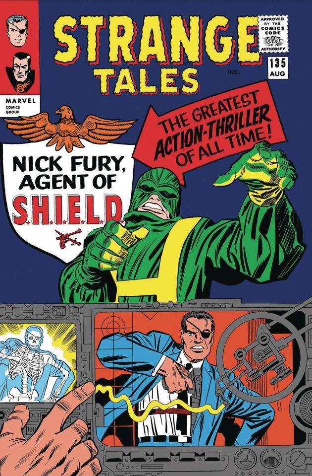 Nick Fury #1 (True Believers Kirby Cover)