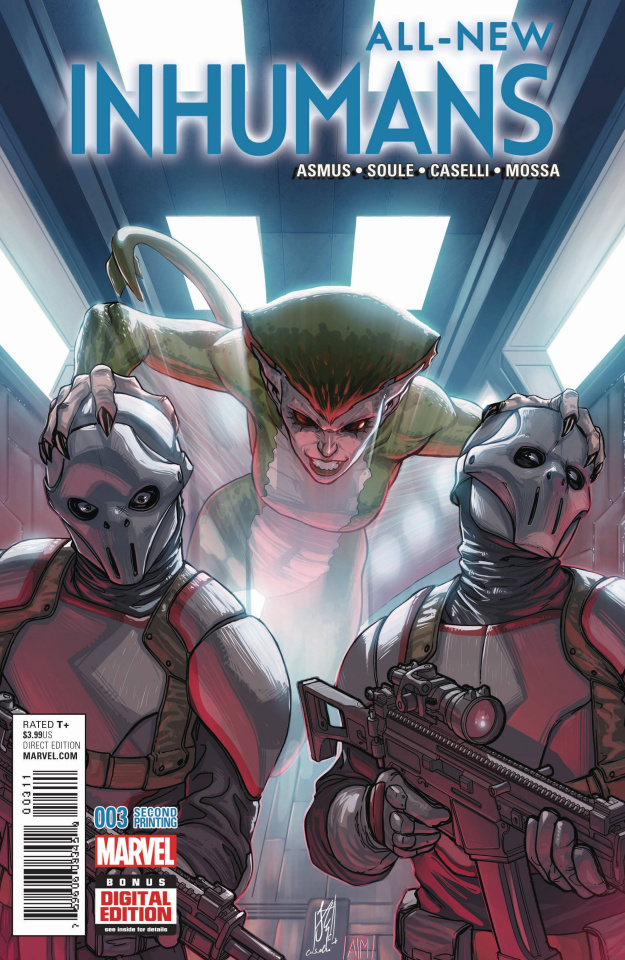 All-New Inhumans #3 (Caselli 2nd Printing)