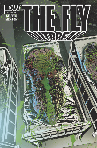 The Fly: Outbreak #3 (Subscription Cover)