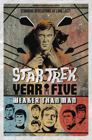 Star Trek: Year Five #17 (10 Copy Lendl Cover)