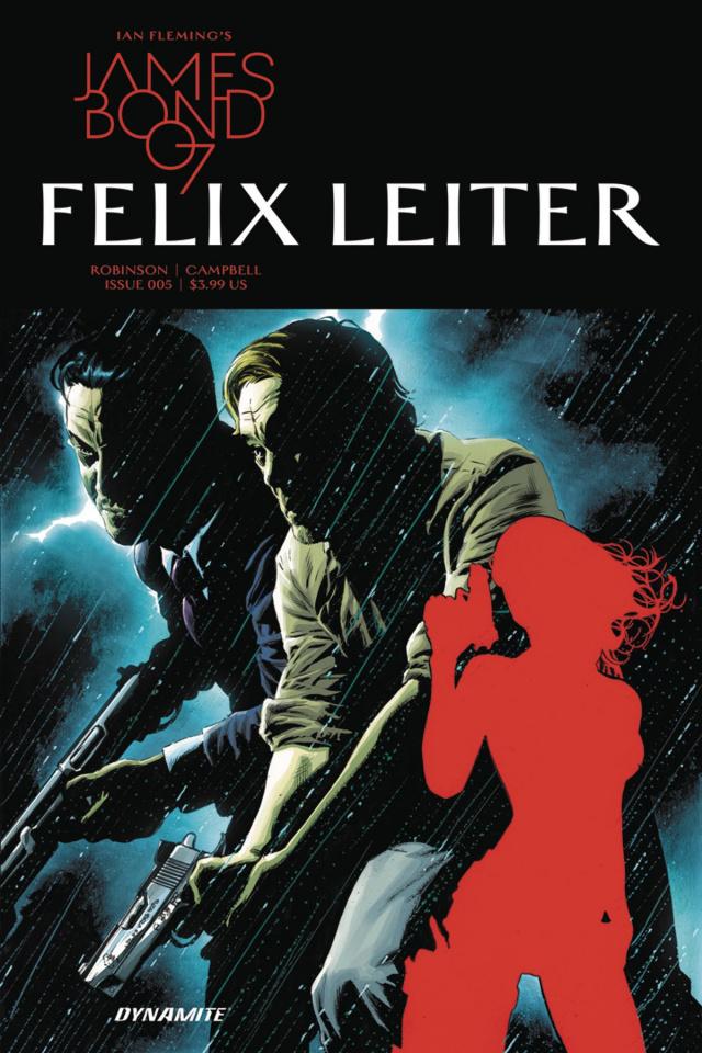 James Bond: Felix Leiter #5 (Perkins Cover)