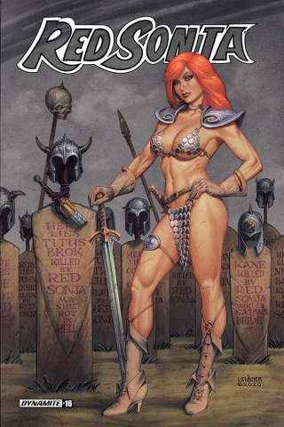 Red Sonja #16 (Linsner Cover)
