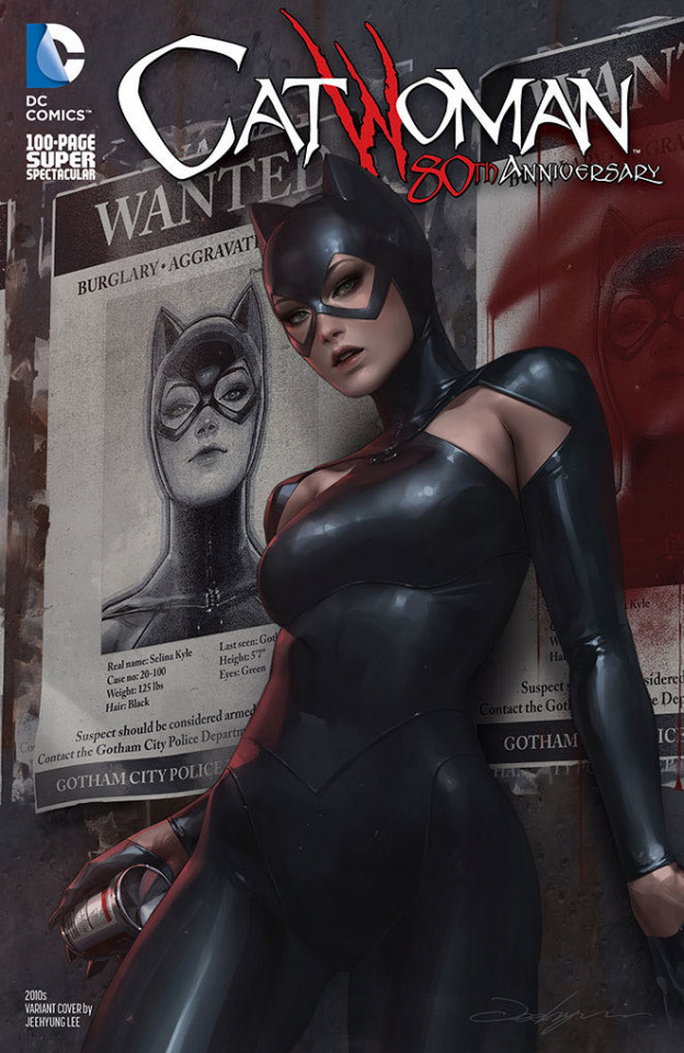 Catwoman 80th Anniversary 100 Page Super Spectacular #1 (2010s Jeehyung Lee Cover)