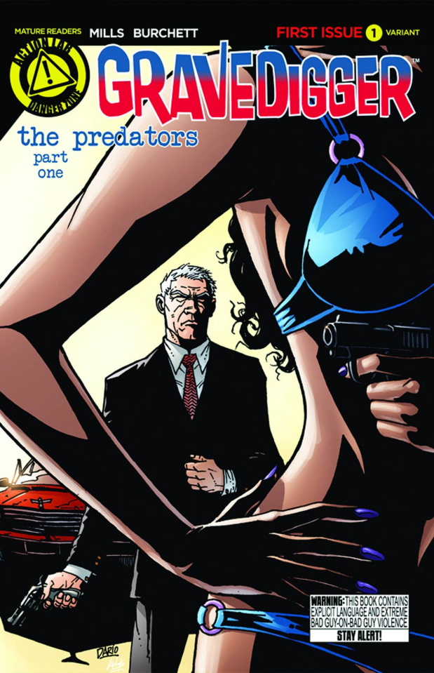 Gravedigger #1 (Carrasco Cover)