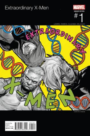 Extraordinary X-Men #1 (Greene Hip Hop Cover)
