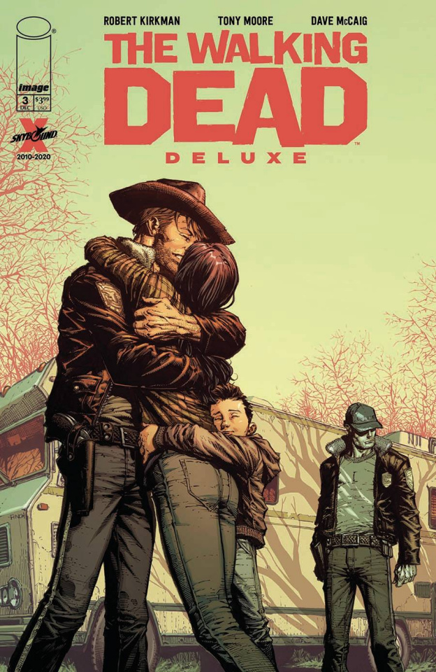 The Walking Dead Deluxe #3 (Finch & McCaig Cover)