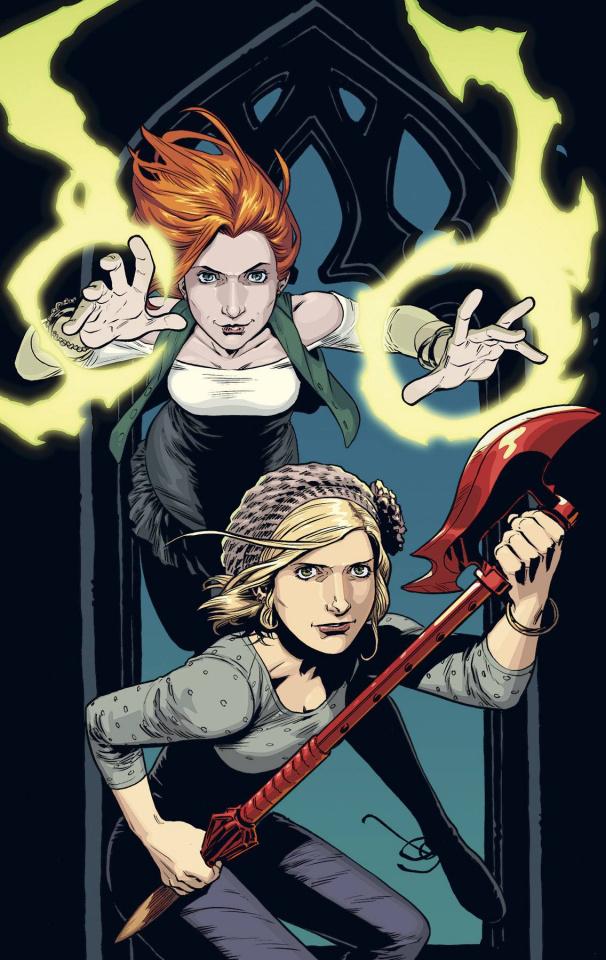 Buffy the Vampire Slayer, Season 10 #17 (Isaacs Cover)