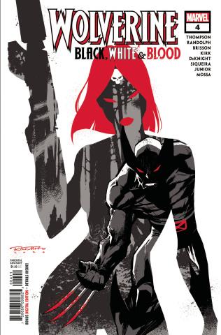 Wolverine: Black, White & Blood #4