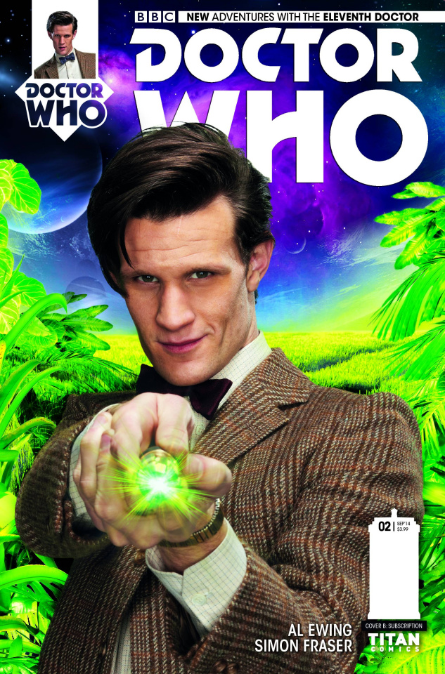Doctor Who: New Adventures with the Eleventh Doctor #2 (Subscription Cover)