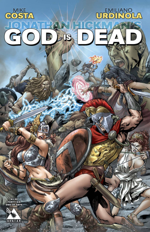 God Is Dead #46 (End of Days Cover)