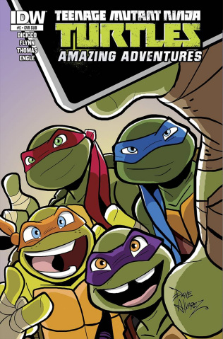 Teenage Mutant Ninja Turtles: Amazing Adventures #5 (Subscription Cover)