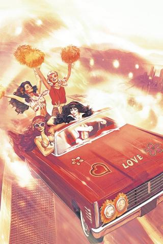 Red Sonja and Vampirella Meet Betty and Veronica #11 (Dalton Virgin Cover)