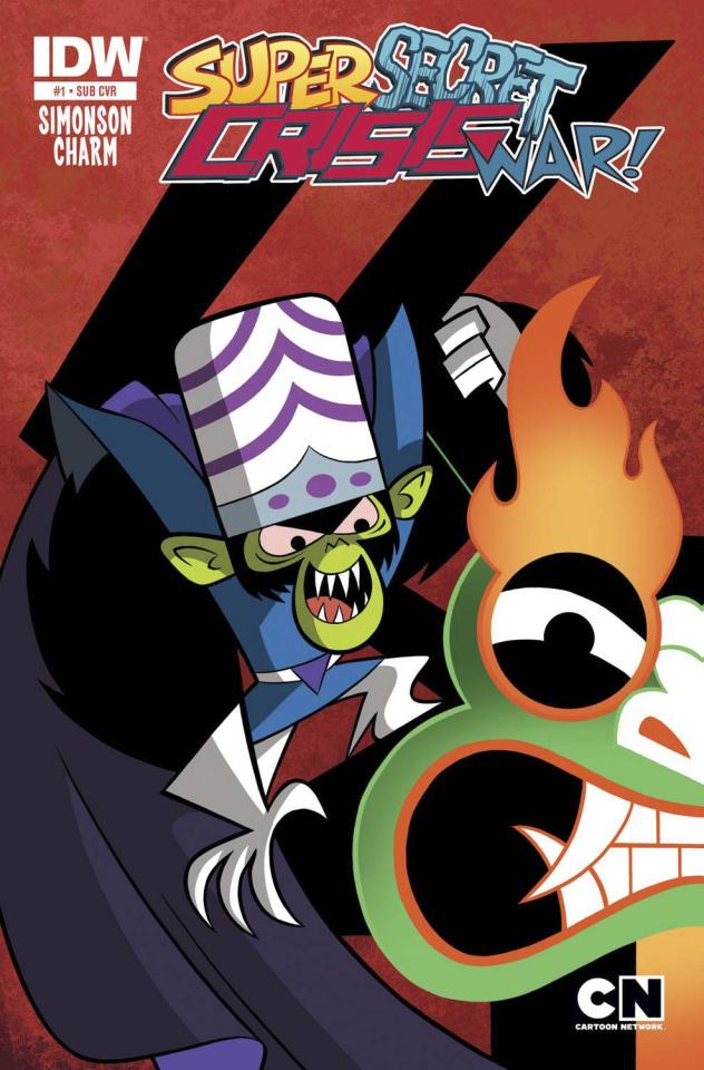 Super Secret Crisis War! #1 (Subscription Cover)