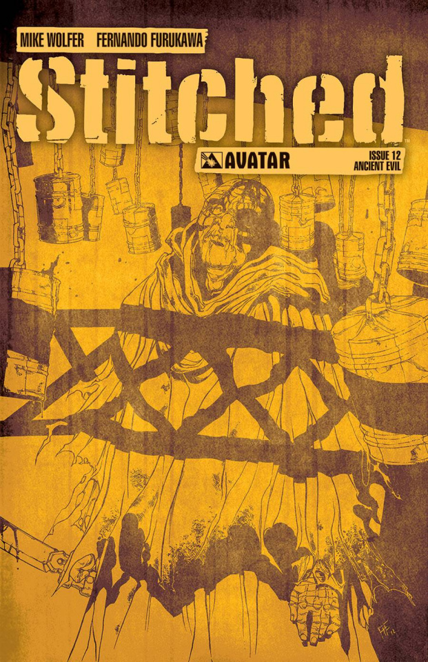 Stitched #12 (Ancient Evil Cover)