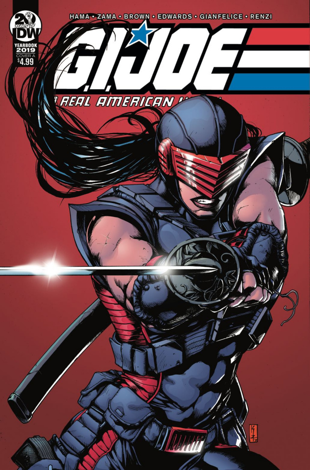 G.I. Joe: A Real American Hero Yearbook 2109 (Zama Cover)