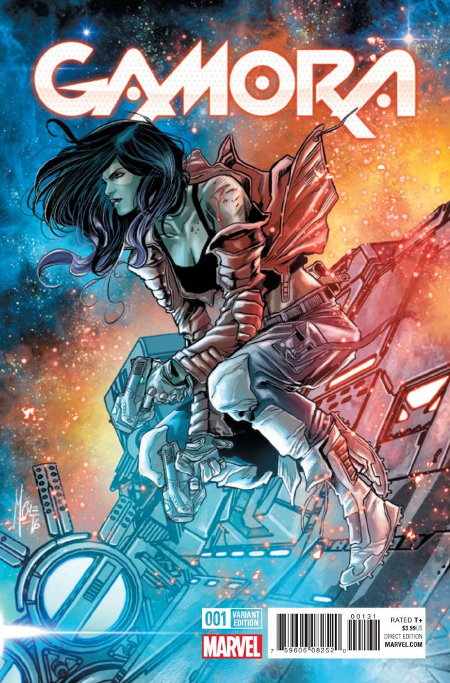 Gamora #1 (Checcheto Cover)